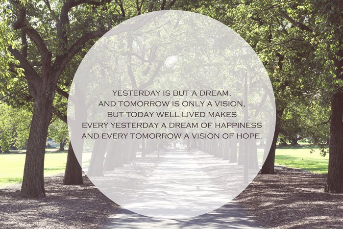 Dreams of happiness and visions of hope quote