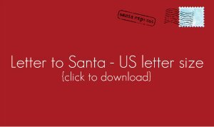 Download US letter to Santa template