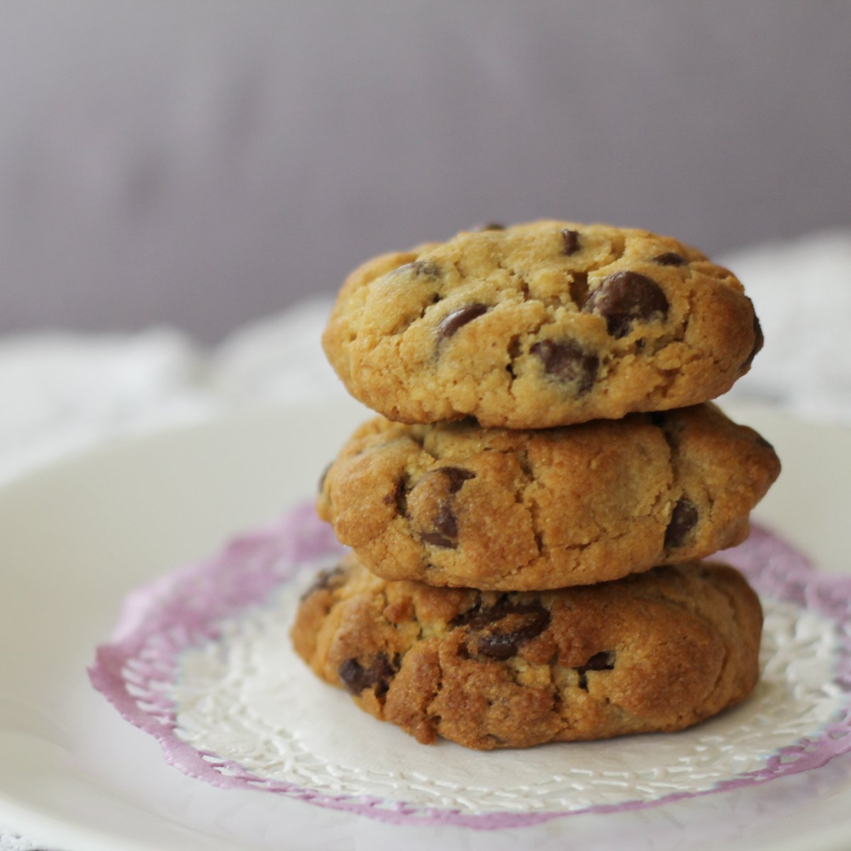chocolate chip cookies recipe by tiny & little