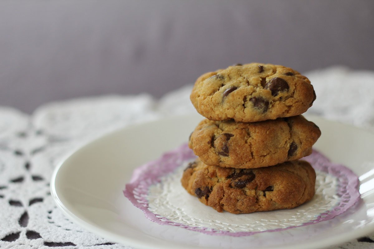 chocolate chip cookies recipe - tiny & little food