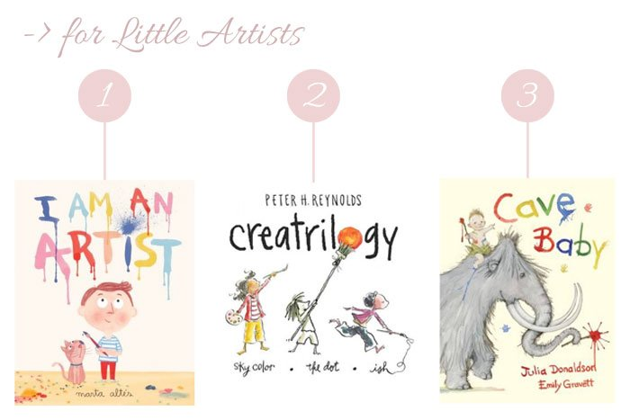 Books for little artists