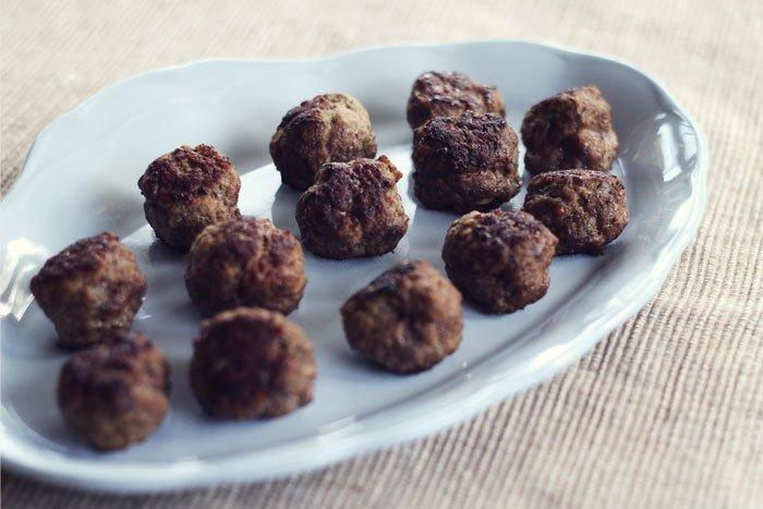 tiny & little's easy peasy meaty meatballs