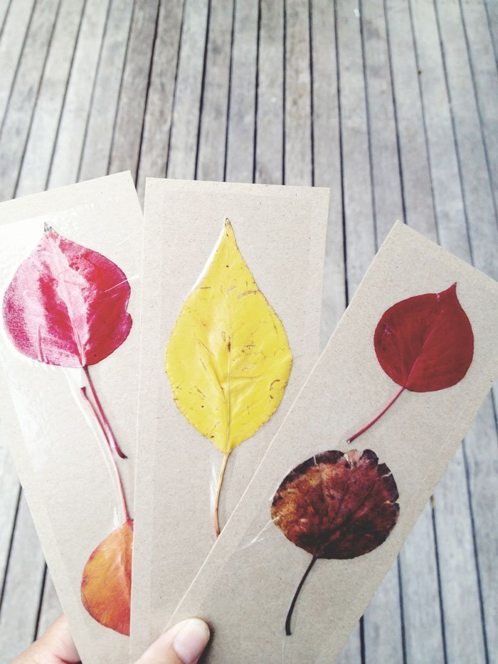 Quick Craft - Autumn Bookmarks