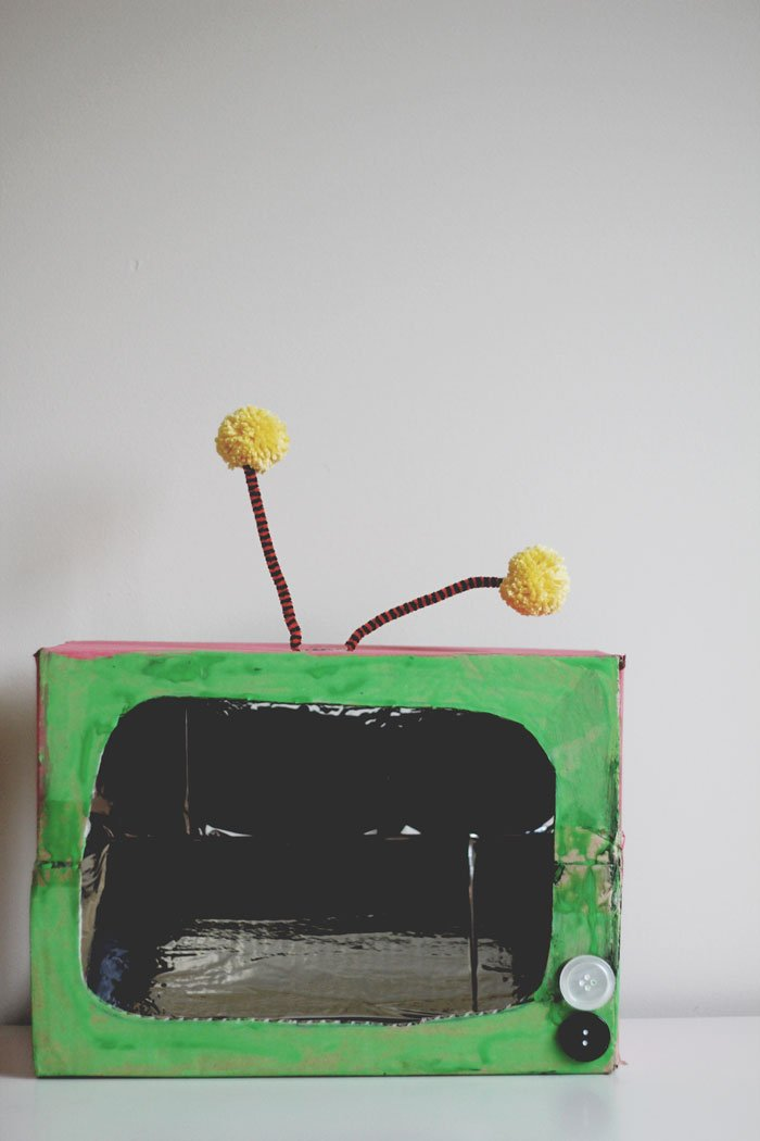 The Box kids craft by tiny & little