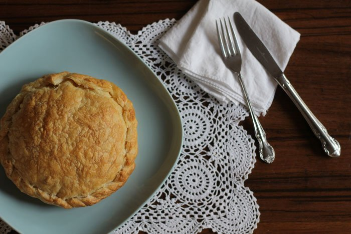 chicken & lemon pithivier