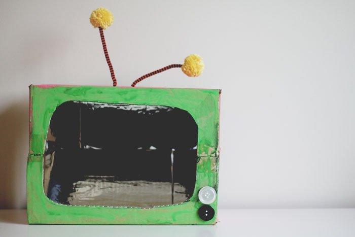 retro television craft