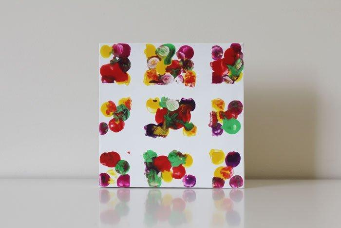 Stamp It Grid Paintings