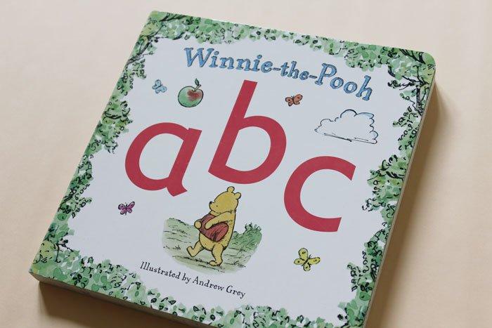 Winnie the Pooh ABC board book cover