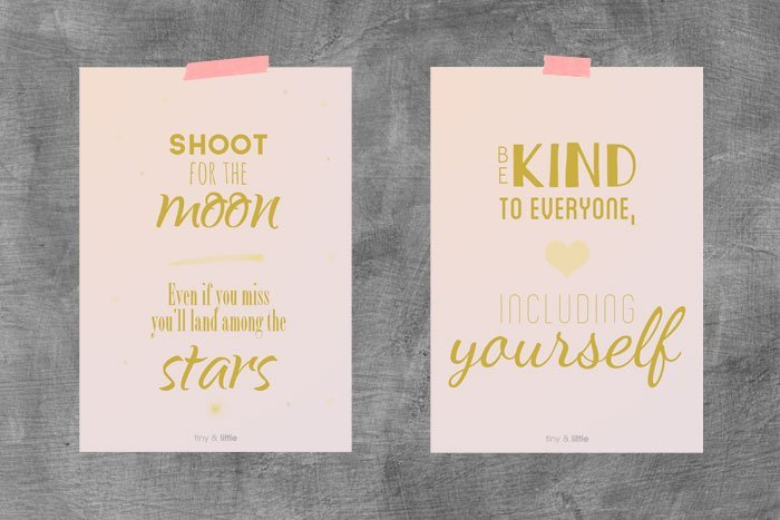 Inspired :: free printable and digital download