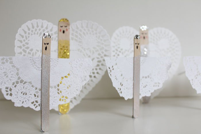 Kids craft: Christmas Angels