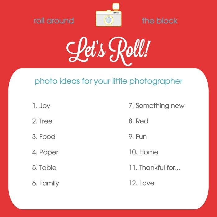 Roll Around the Block - Photo Ideas List #2