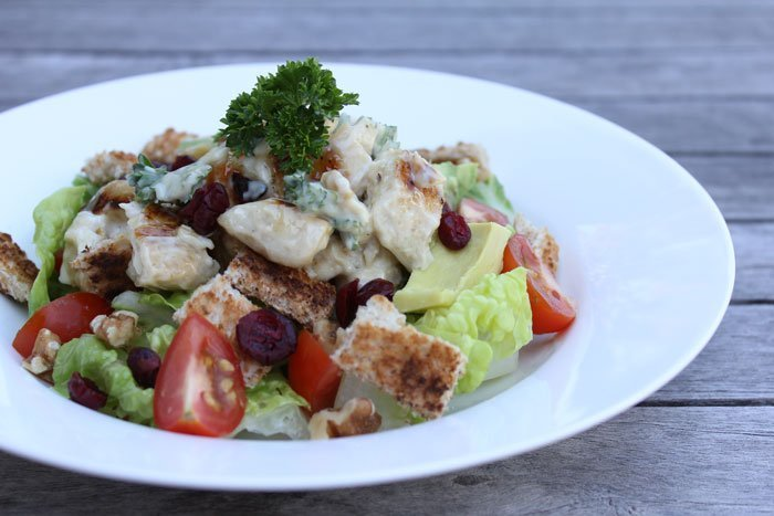 chicken & cranberry salad