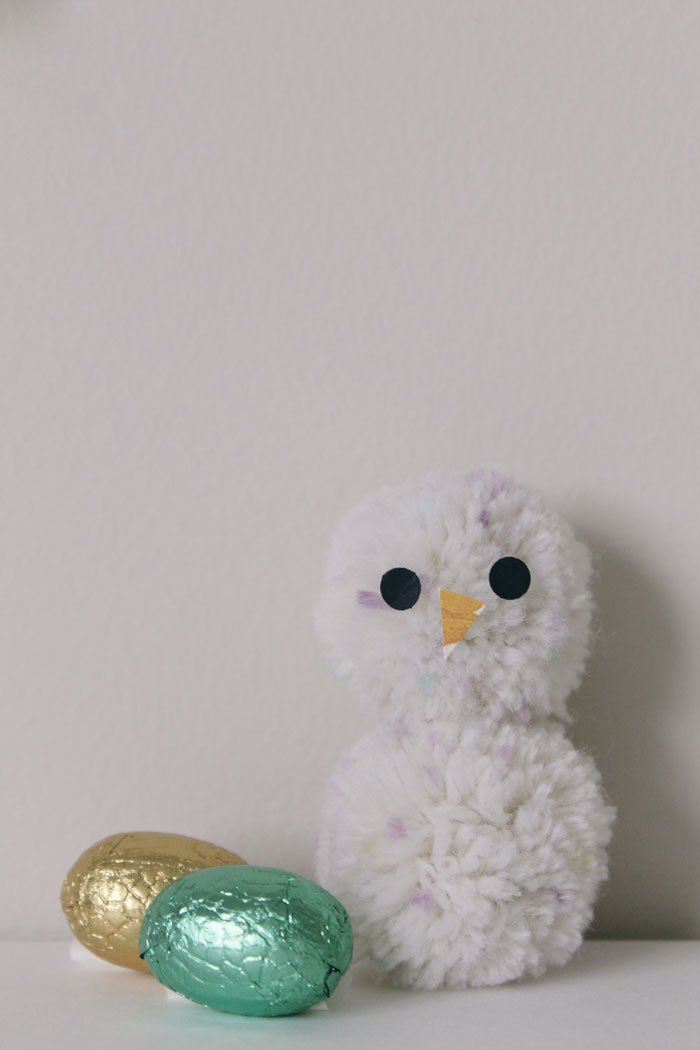 Hey Chick easy kids Easter craft by tiny & little