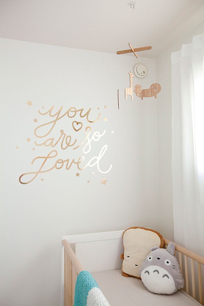 Baby Girl Nursery, by Papermade Design, via ministyle