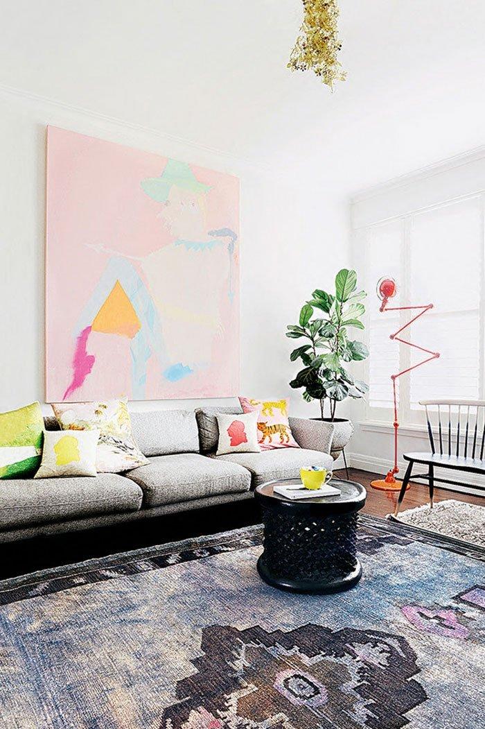 Family room, via homelife
