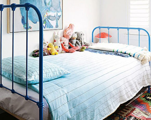 pink and blue kids rooms