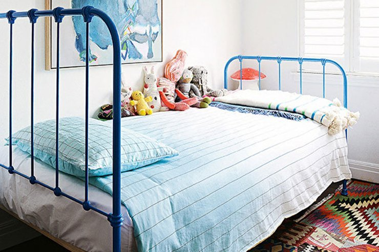 Five pink and blue kids rooms