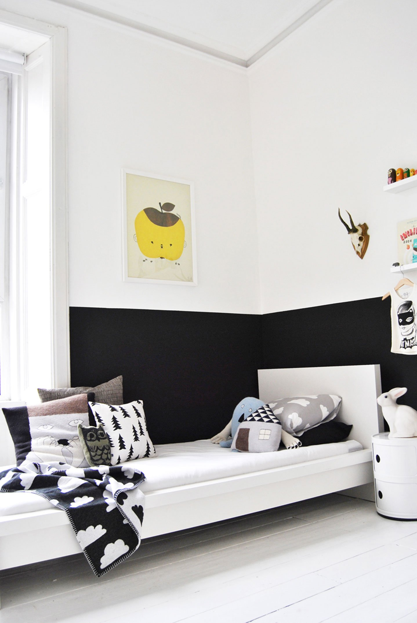 10 Black And White Kids Rooms Tiny Little