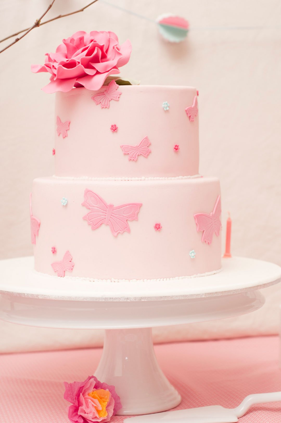 Cake Ink Enchanted Garden Party