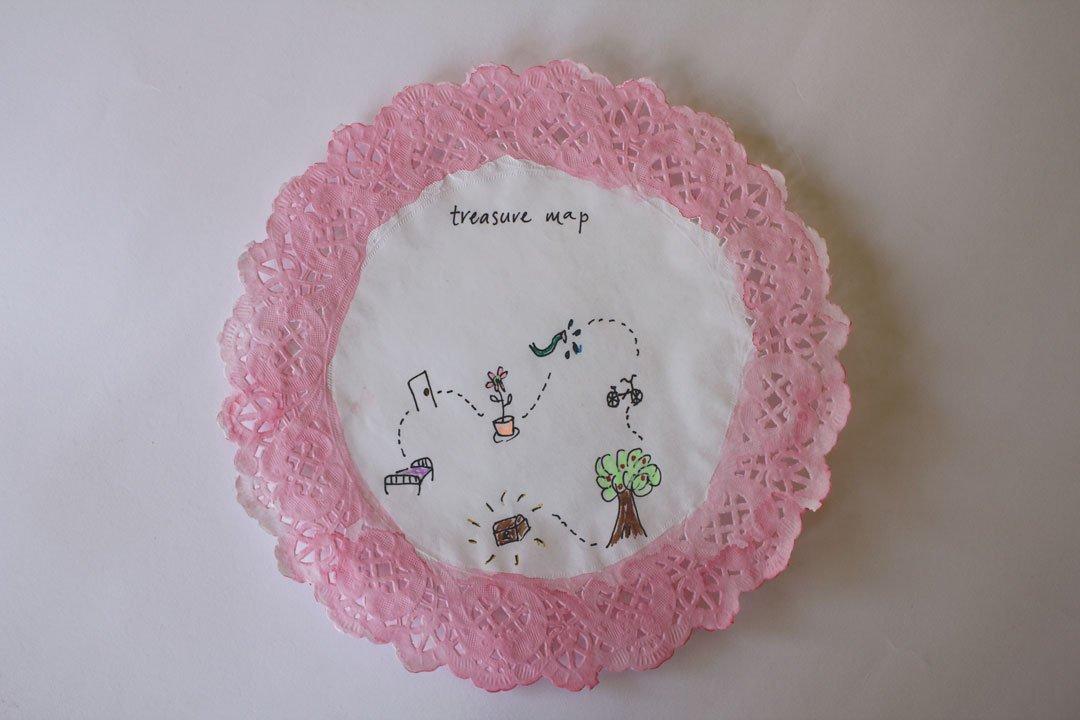 Kids craft: treasure hunt kit by tiny & little