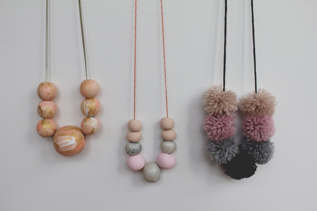 Easy DIY necklaces for kids