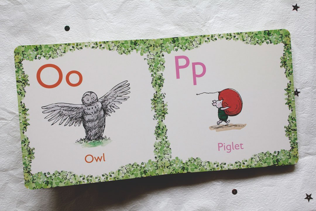 Alphabet book, Winnie-the-Pooh