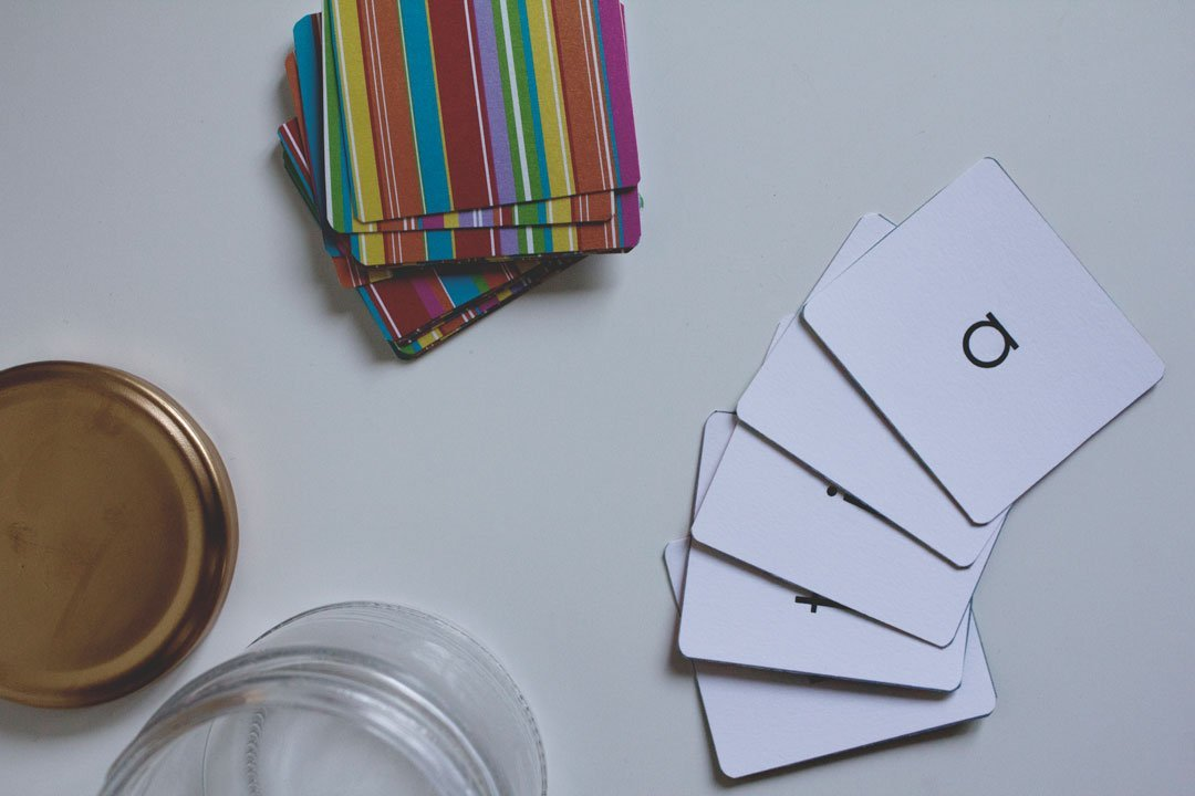 DIY Sight Words Playing Cards