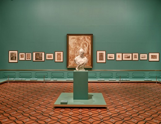 Installation view of Masterpieces from the Hermitage: The Legacy of Catherine the Great . Photo by Sean Fennessy . National Gallery of Victoria
