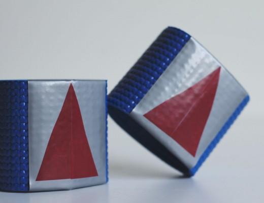 Simple DIY Superhero Wrist Guards by tiny & little