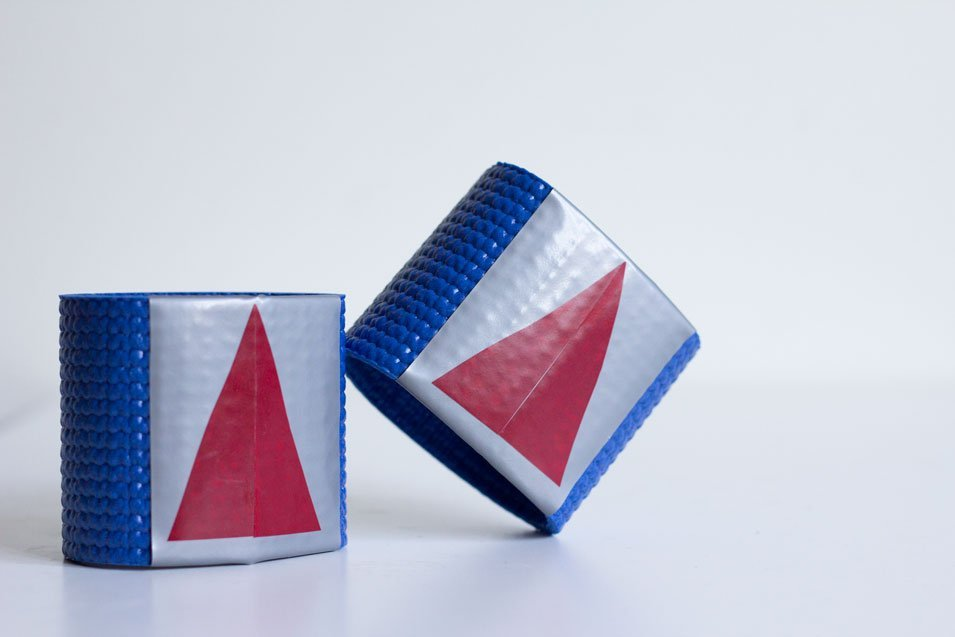 DIY Super Hero Wrist Guards by tiny & little